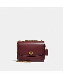Refined Calf Leather Madison Shoulder Bag