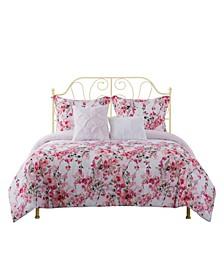 Villa 5-Piece Comforter Set, Full/Queen