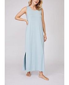 Pleated Back Drape Dress