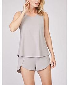 Tank Short Loungewear Set, 2 Piece