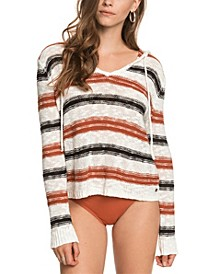 Women's Shades of Cool Stripes Hoodie