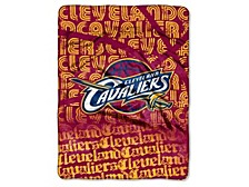 """Cleveland Cavaliers Micro Raschel 46x60 """"Clear Out"""" Blanket"""
