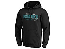San Jose Sharks Men's Empty Netter Hoodie