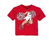 Infant Ohio State Buckeyes Pom Pom Cheer T-Shirt