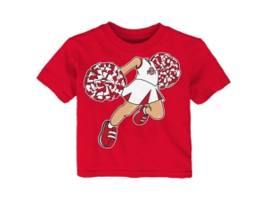 Outerstuff INFANT OHIO STATE BUCKEYES POM POM CHEER T-SHIRT