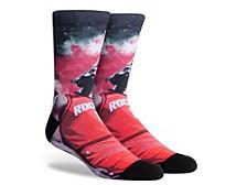Parkway Men's Houston Rockets Voltage Crew Socks