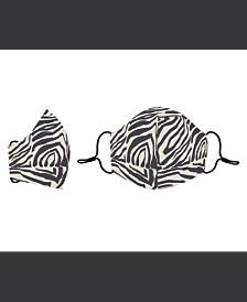 Zebra Cotton Face Mask
