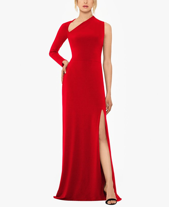 Betsy & Adam - One-Sleeve Gown
