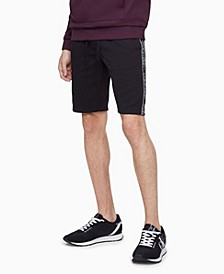 Men's Athleisure Logo Tape Shorts