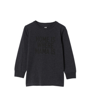 COTTON ON LITTLE BOYS TOM LONG SLEEVE T-SHIRT