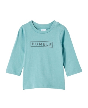 Cotton On BABY BOYS JAMIE LONG SLEEVE T-SHIRT