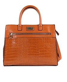 Women's Hannah Vegan Leather Satchel