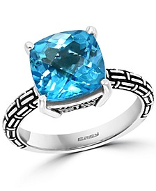 EFFY® Blue Topaz or Citrine Statement Ring (4-1/2 ct. t.w.) in Sterling Silver