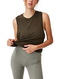 Women's All Things Fabulous Cropped Muscle Tank