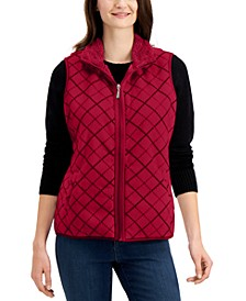 Plaid Vest, Created for Macy's