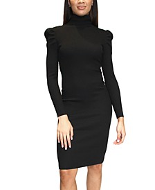 Crave Fame Juniors' Ribbed Bodycon Sweater Dress