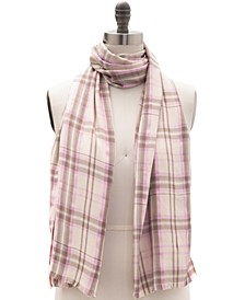 Woven Plaid Pashmina Scarf, Created for Macy's