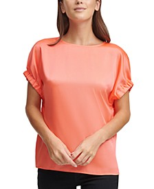 Elastic-Sleeve Top