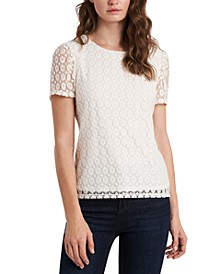 Lola Daisy-Knit Top, Created for Macy's