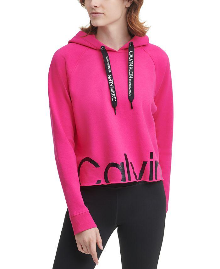 Calvin Klein - Logo Cropped Hoodie