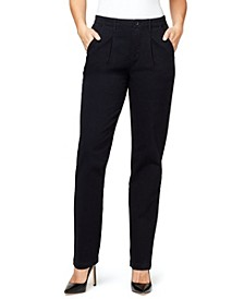 Women's Pleated Chino Pants