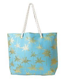 Women's Palm Tree Tote Bag