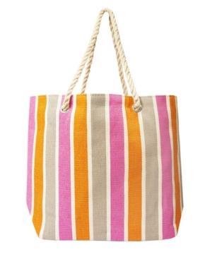 Women's Stripe Tote Bag