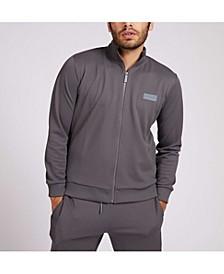 Men's Zip-Up Mock-Neck Sweatshirt