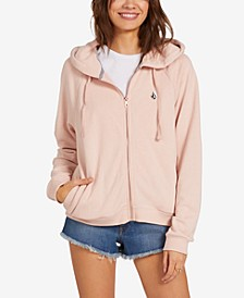 Moonstoned Zip-Up Hoodie