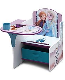 Disney Frozen II Chair Desk with Storage Bin by Delta Children