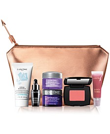Choose Your FREE 7-pc gift with any $39.50 Lancôme Purchase. Gift worth up to $174*