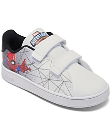 Essentials Toddler Boys Advantage Spiderman Stay-Put Closure Casual Sneakers from Finish Line