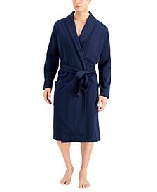 Men's Moisture-Wicking Robe, Created for Macy's