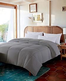 Cozy Down Reversible Comforter, Full/Queen