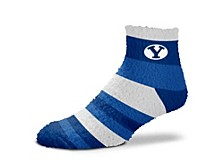 BYU Cougars FBF Rainbow Sleepsoft Socks