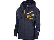 Golden State Warriors Women's City Edition Full Zip Hoodie
