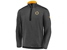 Boston Bruins Men's Travel & Training Quarter Zip Pullover