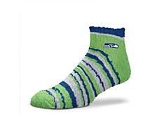 Seattle Seahawks Muchas Rayas Sleepsoft Socks