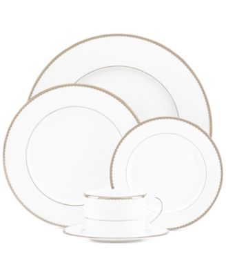 kate spade new york sugar pointe 5piece place setting