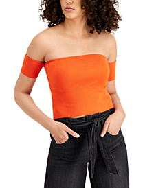 Off-The-Shoulder Crop Top, Created for Macy's
