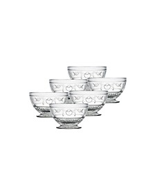 Versailles 9 Ounce Small Bowls, Set of 6