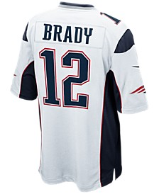 Men's Tom Brady New England Patriots Game Jersey