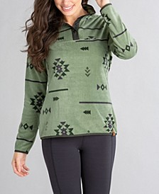 Frostbite Women's Snap Pullover Top