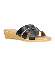 Tuscany by Women's Tazia Wedge Sandals