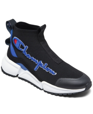 Champion BIG BOYS RALLY FUTURE MID CASUAL SNEAKERS FROM FINISH LINE