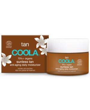 Sunless Tan Organic Anti-Aging Daily Moisturizer