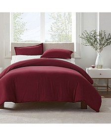 Simply Clean Antimicrobial Twin and Twin Extra Long Duvet Set, 2 Piece