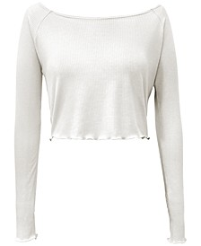 Rib-Knit Sleep Top, Created for Macy's