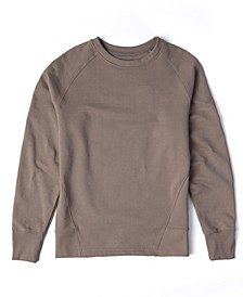 Men's Perfect Crew Sweatshirt with Forward Cut Side Seams