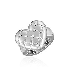 Women's Heart Stretch Ring
